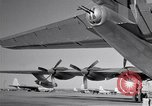 Image of different views of Convair B-36 Fort Worth Texas USA, 1951, second 30 stock footage video 65675032407