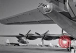 Image of different views of Convair B-36 Fort Worth Texas USA, 1951, second 32 stock footage video 65675032407