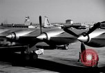 Image of Convair B-36 taxiing Fort Worth Texas USA, 1950, second 6 stock footage video 65675032411