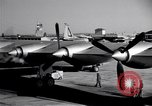 Image of Convair B-36 taxiing Fort Worth Texas USA, 1950, second 9 stock footage video 65675032411