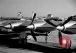Image of Convair B-36 taxiing Fort Worth Texas USA, 1950, second 10 stock footage video 65675032411