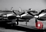 Image of Convair B-36 taxiing Fort Worth Texas USA, 1950, second 11 stock footage video 65675032411