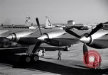 Image of Convair B-36 taxiing Fort Worth Texas USA, 1950, second 12 stock footage video 65675032411