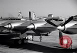 Image of Convair B-36 taxiing Fort Worth Texas USA, 1950, second 13 stock footage video 65675032411