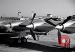 Image of Convair B-36 taxiing Fort Worth Texas USA, 1950, second 14 stock footage video 65675032411