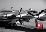 Image of Convair B-36 taxiing Fort Worth Texas USA, 1950, second 15 stock footage video 65675032411