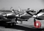 Image of Convair B-36 taxiing Fort Worth Texas USA, 1950, second 17 stock footage video 65675032411
