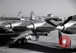 Image of Convair B-36 taxiing Fort Worth Texas USA, 1950, second 18 stock footage video 65675032411