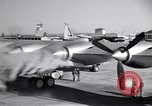 Image of Convair B-36 taxiing Fort Worth Texas USA, 1950, second 22 stock footage video 65675032411
