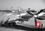 Image of Convair B-36 taxiing Fort Worth Texas USA, 1950, second 23 stock footage video 65675032411
