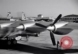 Image of Convair B-36 taxiing Fort Worth Texas USA, 1950, second 25 stock footage video 65675032411