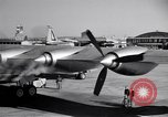 Image of Convair B-36 taxiing Fort Worth Texas USA, 1950, second 26 stock footage video 65675032411