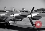 Image of Convair B-36 taxiing Fort Worth Texas USA, 1950, second 28 stock footage video 65675032411