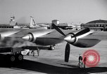 Image of Convair B-36 taxiing Fort Worth Texas USA, 1950, second 29 stock footage video 65675032411