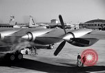 Image of Convair B-36 taxiing Fort Worth Texas USA, 1950, second 30 stock footage video 65675032411