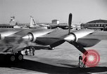 Image of Convair B-36 taxiing Fort Worth Texas USA, 1950, second 31 stock footage video 65675032411