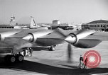 Image of Convair B-36 taxiing Fort Worth Texas USA, 1950, second 32 stock footage video 65675032411