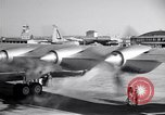 Image of Convair B-36 taxiing Fort Worth Texas USA, 1950, second 33 stock footage video 65675032411