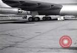 Image of Convair B-36 taxiing Fort Worth Texas USA, 1950, second 41 stock footage video 65675032411