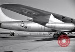 Image of Convair B-36 taxiing Fort Worth Texas USA, 1950, second 49 stock footage video 65675032411