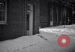 Image of Policeman checking building security United States USA, 1951, second 9 stock footage video 65675032416