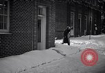 Image of Policeman checking building security United States USA, 1951, second 14 stock footage video 65675032416