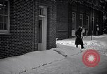 Image of Policeman checking building security United States USA, 1951, second 15 stock footage video 65675032416