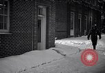 Image of Policeman checking building security United States USA, 1951, second 17 stock footage video 65675032416