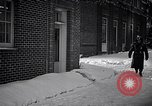 Image of Policeman checking building security United States USA, 1951, second 18 stock footage video 65675032416