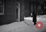 Image of Policeman checking building security United States USA, 1951, second 20 stock footage video 65675032416