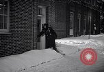 Image of Policeman checking building security United States USA, 1951, second 22 stock footage video 65675032416