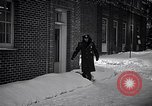 Image of Policeman checking building security United States USA, 1951, second 24 stock footage video 65675032416