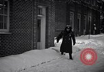 Image of Policeman checking building security United States USA, 1951, second 25 stock footage video 65675032416