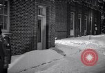 Image of Policeman checking building security United States USA, 1951, second 30 stock footage video 65675032416