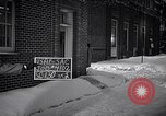 Image of Policeman checking building security United States USA, 1951, second 31 stock footage video 65675032416
