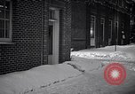 Image of Policeman checking building security United States USA, 1951, second 33 stock footage video 65675032416