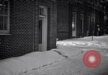 Image of Policeman checking building security United States USA, 1951, second 36 stock footage video 65675032416