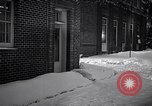 Image of Policeman checking building security United States USA, 1951, second 37 stock footage video 65675032416