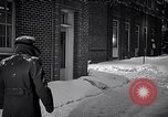 Image of Policeman checking building security United States USA, 1951, second 39 stock footage video 65675032416