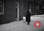 Image of Policeman checking building security United States USA, 1951, second 45 stock footage video 65675032416