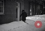 Image of Policeman checking building security United States USA, 1951, second 46 stock footage video 65675032416