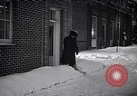 Image of Policeman checking building security United States USA, 1951, second 48 stock footage video 65675032416