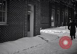 Image of Policeman checking building security United States USA, 1951, second 52 stock footage video 65675032416