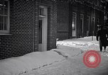 Image of Policeman checking building security United States USA, 1951, second 53 stock footage video 65675032416