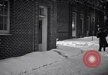 Image of Policeman checking building security United States USA, 1951, second 54 stock footage video 65675032416