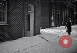 Image of Policeman checking building security United States USA, 1951, second 55 stock footage video 65675032416