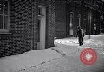 Image of Policeman checking building security United States USA, 1951, second 57 stock footage video 65675032416