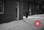 Image of Policeman checking building security United States USA, 1951, second 59 stock footage video 65675032416