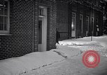 Image of Policeman checking building security United States USA, 1951, second 60 stock footage video 65675032416