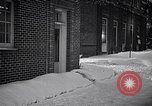 Image of Policeman checking building security United States USA, 1951, second 62 stock footage video 65675032416